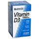 Health Aid Vitamin D3 1000iu 30 Tablets